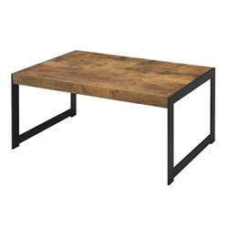 Coaster Rustic Coffee Table in Antique Nutmeg
