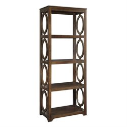 Coaster Enedina 4 Shelf Bookcase in Brown
