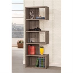 Coaster Semi Backless Bookcase