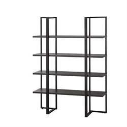 Coaster 4 Shelf Bookcase in Cappuccino