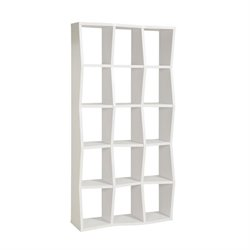 Coaster Asymmetrical Shelf Bookcase