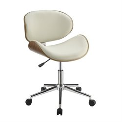 Coaster Contemporary Faux Leather Office Chair 1
