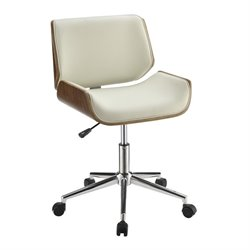 Coaster Contemporary Faux Leather Office Chair