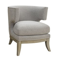 Coaster Barrel Back Upholstered Accent Chair