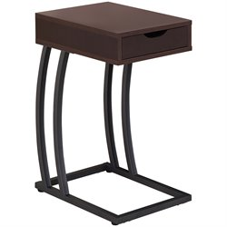 Coaster 1 Drawer End Table with Outlets