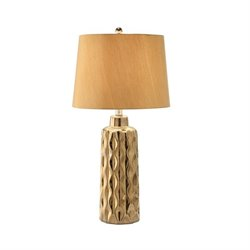 Coaster Table Lamp in Gold