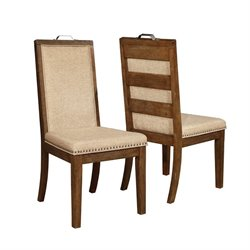 Coaster Arcadia Upholstered Dining Chair in Tan
