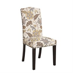 Coaster Matisse Upholstered Dining Chair in Beige and Cappuccino