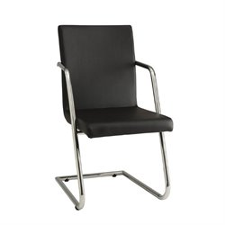 Coaster Avram Contemporary Dining Chair in Black