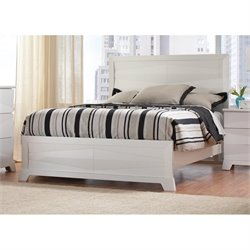 Coaster Karolina Panel Bed in White