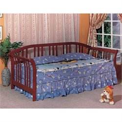 Coaster Twin Daybed in Cherry