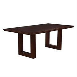 Coaster Chester Dining Table in Chocolate