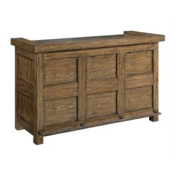 Coaster Willowbrook Bar Cabinet with Wine Storage in Chinese Ash