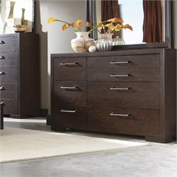 Coaster Berkshire 7 Drawer Dresser in Bitter Chocolate