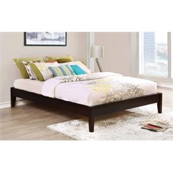 Coaster Hounslow Platform Bed in Cappuccino