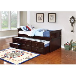 Coaster Twin Daybed in Cappuccino