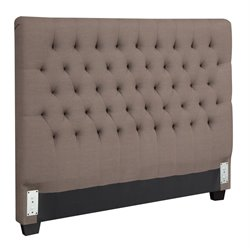 MER1219 Coaster Tufted Headboard in Dark Brown
