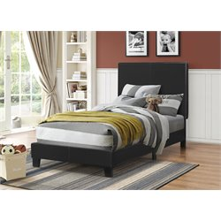 MER1219 Coaster Platform Bed in Black