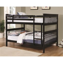 MER1219 Coaster Bunk Bed in Black