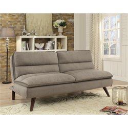 Coaster Convertible Sofa in Brown