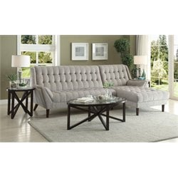 MER1219 Coaster Natalia Contemporary Sectional