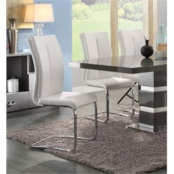 Coaster Faux Leather Dining Chair