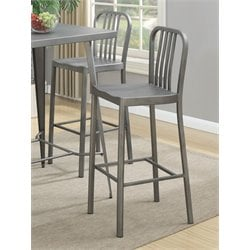 Coaster Counter Stool in Gunmetal