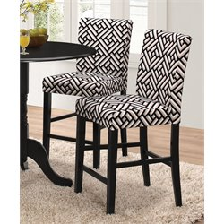 Coaster Counter Stool in Black