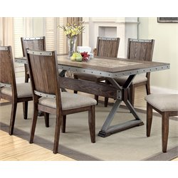Coaster Dining Table in Brown