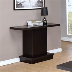 Coaster Console Table in Cappuccino