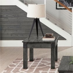 Coaster End Table in Rustic Gray