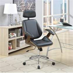 MER-1220 Coaster Modern Faux Leather Office Chair