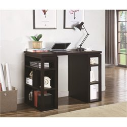 Coaster Counter Height Writing Desk in Cappuccino