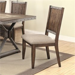 Coaster Dining Side Chair in Brown