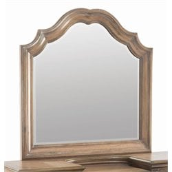 Coaster Vanity Mirror in Antique Linen