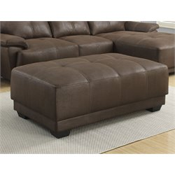 Coaster Ottoman in Brown