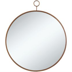 Coaster Mirror in Gold