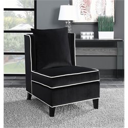 Coaster Velvet Upholstered Accent Chair