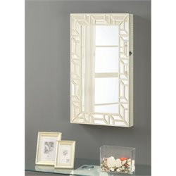 Coaster Wall Mount Jewelry Mirror