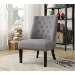 Coaster Upholstered Tufted Accent Chair 1