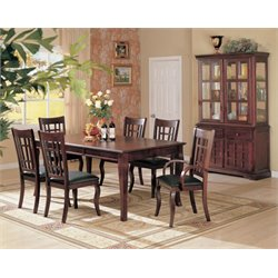 Coaster Newhouse Dining Set in Cherry