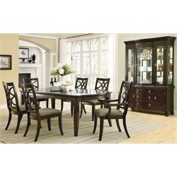 Coaster Meredith Dining Set In Espresso