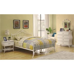 Coaster 4 Piece Spindle Bedroom Set-D