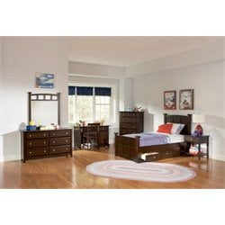 Coaster 4 Piece Poster Bedroom Set-W