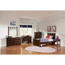 Coaster 5 Piece Poster Bedroom Set-W