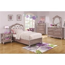 Coaster Caroline 5 Piece Tufted Storage Bedroom Set-SH