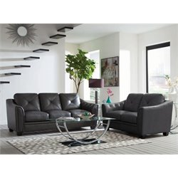 Coaster Avison 2 Piece Contemporary Sofa Set