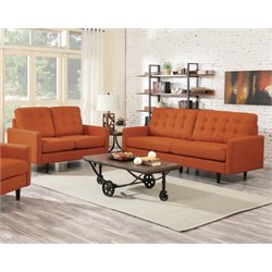Coaster Kesson 2 Piece Modern Sofa Set