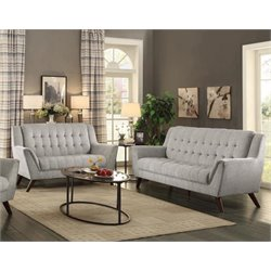 Coaster Baby Natalia 2 Piece Tufted Sofa Set
