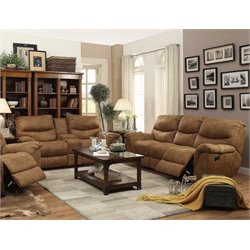 Coaster Hancox Sofa Set in Light Brown-A